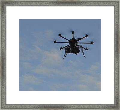 Framed Print featuring the photograph Drone by Linda Geiger