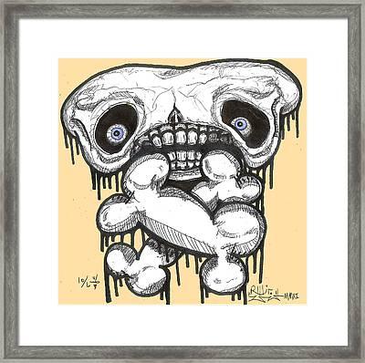 Droopin' Framed Print