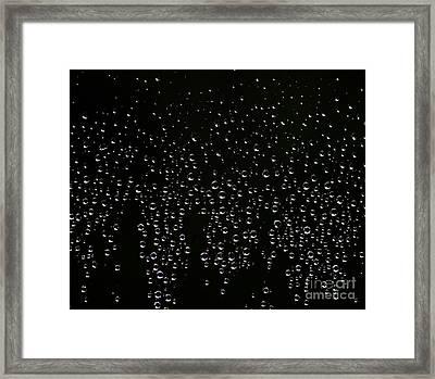 Drop Framed Print by Benjamin Johnson