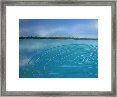 Drop In The Ocean Framed Print