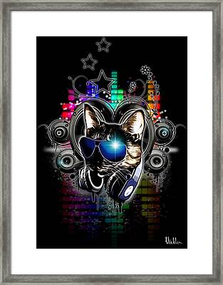 Drop The Bass Framed Print by Nicklas Gustafsson