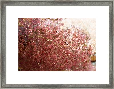 Framed Print featuring the digital art Droplets by Margaret Hormann Bfa