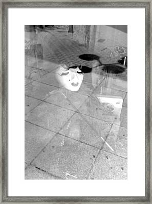 Dropped By You And Everyone Framed Print by Jez C Self