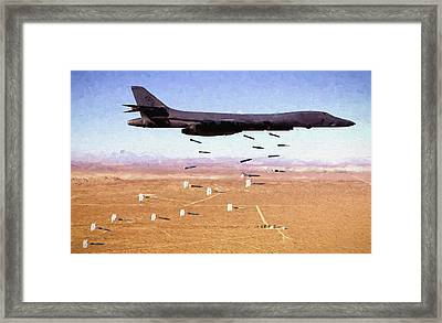 Dropping Iron Framed Print by JC Findley