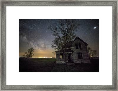 Drops Of Jupiter  Framed Print by Aaron J Groen