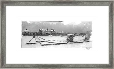 Drottningholm Castle Winter IIi Framed Print by Mikael Jenei