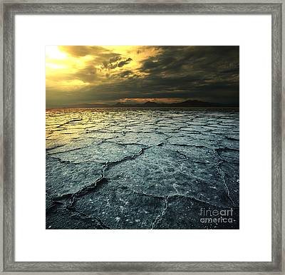 Drought Land Framed Print by Caio Caldas
