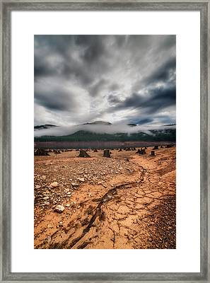 Framed Print featuring the photograph Drought by Ryan Manuel
