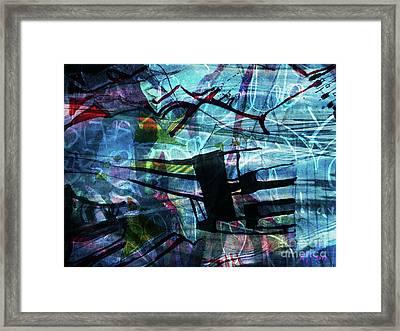 Drowned Princess Ix Framed Print by Katerina Stamatelos