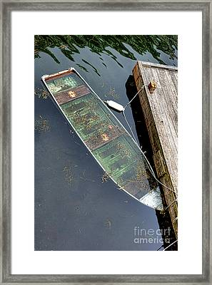 Drowning Slowly Framed Print