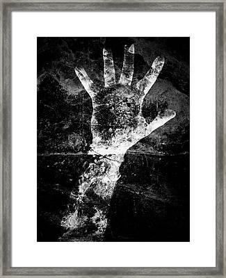Drowning Framed Print
