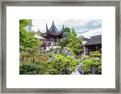Dr. Sun Yat Sen Classical Chinese Garden, Vancouver Framed Print