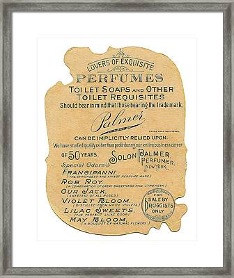 Framed Print featuring the photograph Druggists by ReInVintaged