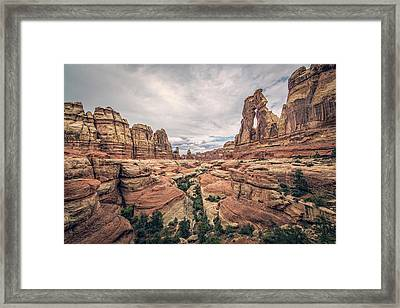 Druid Arch Framed Print