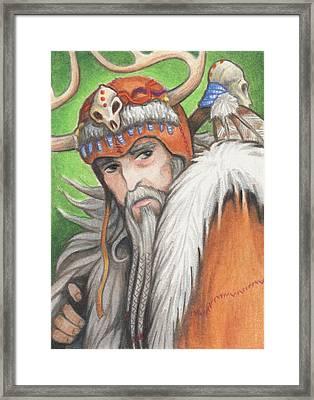 Druid Priest Framed Print