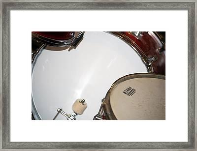 Drum 4 Framed Print by Jame Hayes