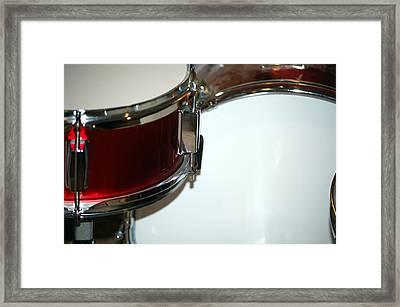Drum 6 Framed Print by Jame Hayes