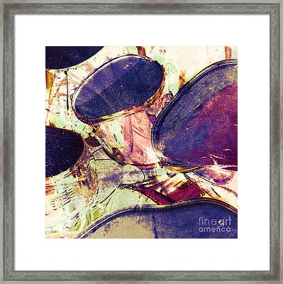 Drum Roll Framed Print