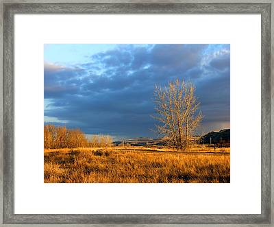 Drumheller Valley Framed Print by Jim Justinick