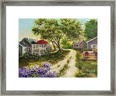 Wellfleet -drummer Cove 3 Framed Print