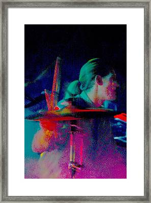 Drummer  Framed Print by Tommy Simpson