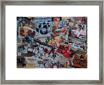 Drummerboys Framed Print by Nancy Graham