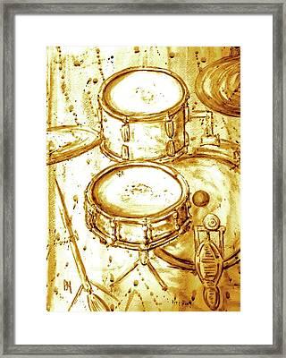 Drummers View II Framed Print