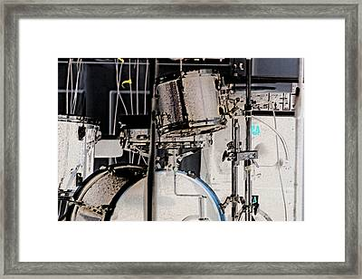 Drummin Framed Print