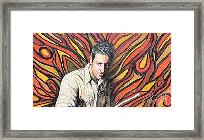 Drummin Framed Print by Sonia Flores Ruiz