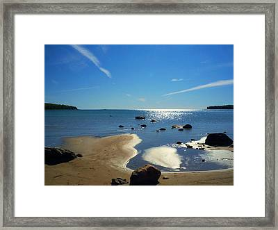 Drummond Shore 1 Framed Print