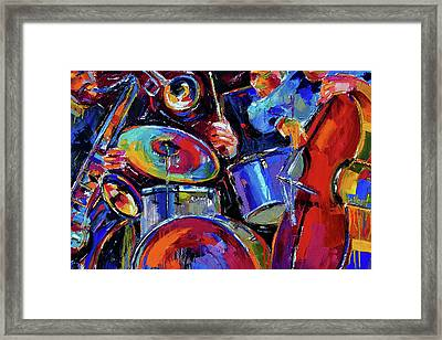 Drums And Friends Framed Print