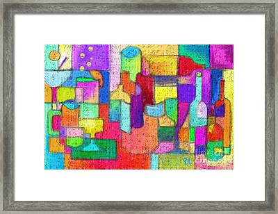 Drunk Aka Too Many Drinks Framed Print