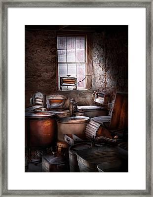 Dry Cleaner - Put You Through The Wringer  Framed Print
