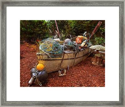 Framed Print featuring the photograph Dry Dock Art by Thom Zehrfeld