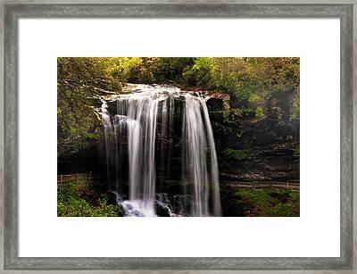 Dry Falls Framed Print