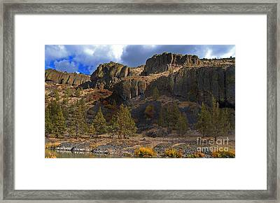 Dry Fly Heaven On The Crooked Framed Print