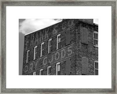 Dry Goods Framed Print by David Lee Thompson