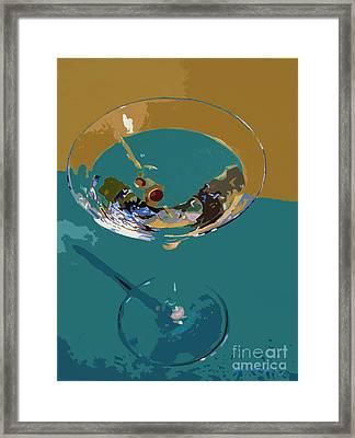 Dry Martini Framed Print