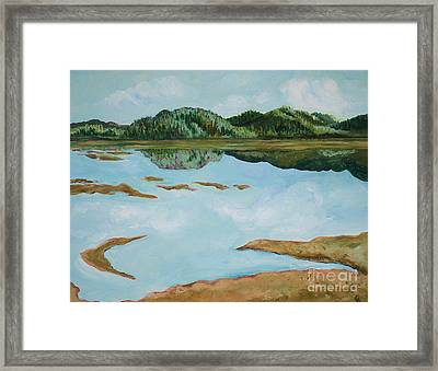 Dry Pass Framed Print