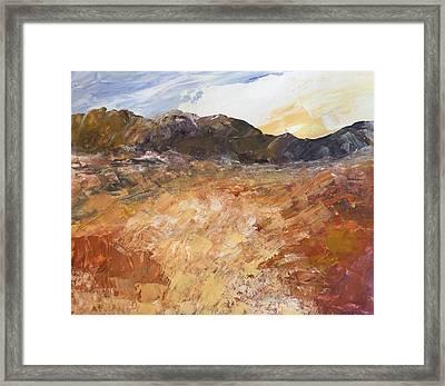 Dry River Framed Print
