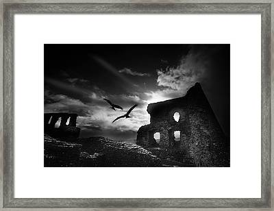 Dryslwyn Castle 3b Framed Print