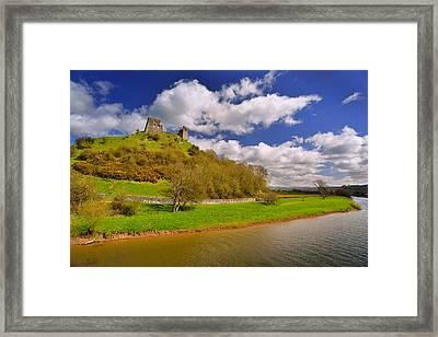 Dryslwyn Casle 1 Framed Print