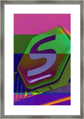 DSB Framed Print by TJ DePaulis