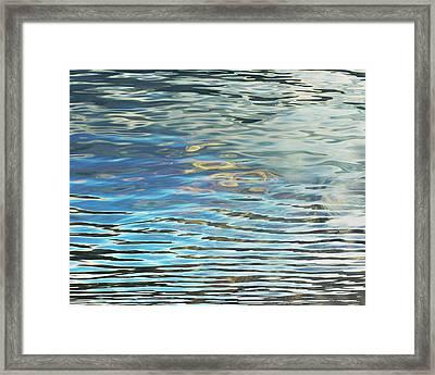 Dual Reflections Framed Print by Susie Gillatt