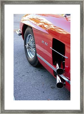 Dual Side Exhausts Framed Print by Don Columbus