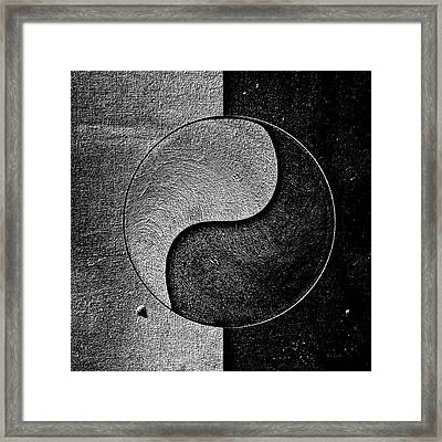 Duality Framed Print by Bob Orsillo