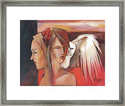 Duality Framed Print by Jacque Hudson