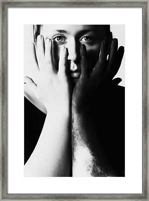 Duality Framed Print by Art of Invi