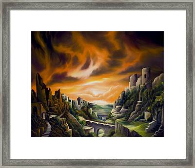 Duallands Framed Print