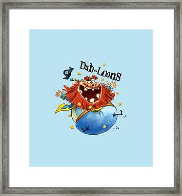 Dub-loons Framed Print by Andy Catling
